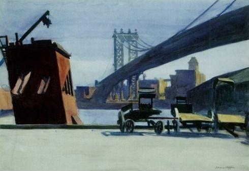 Manhattan Bridge 1926